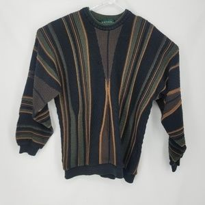 VTG Tundra Canada Mens Coogi Style Sweater L
